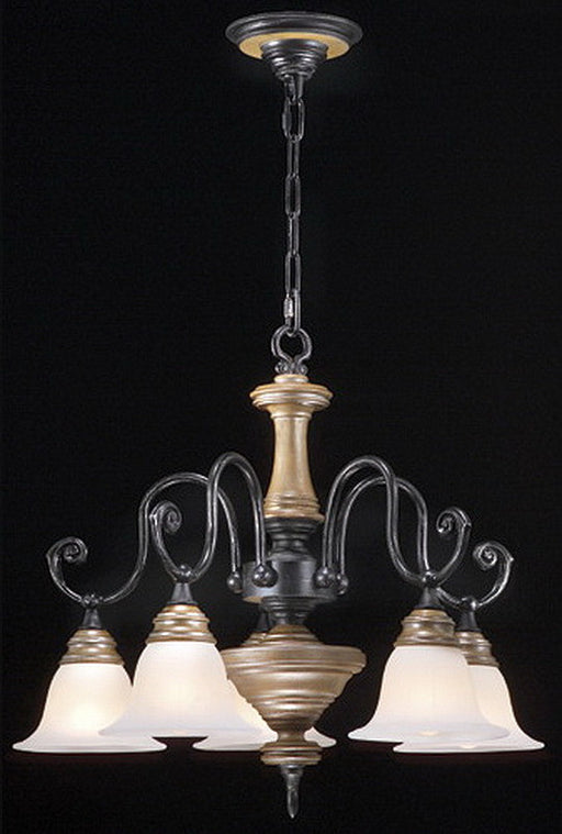 Stylicon by Thomas Lighting AD2905-CAS Lexington Collection 5 Light Chandelier in Colonial Ash Finish - Quality Discount Lighting