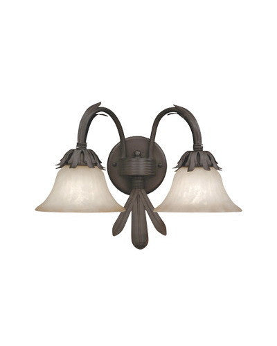 Designers Fountain Lighting 9222 ORB Alora Collection 2 Light Wall Sconce in Oil Rubbed Finish - Quality Discount Lighting