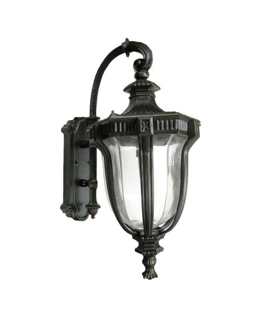 Epiphany Lighting 104921 ORB Cast Aluminum Outdoor Exterior Wall One Light Lantern in Oil Rubbed Bronze Finish