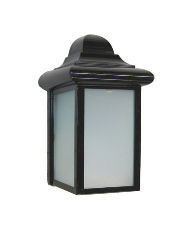 Epiphany Lighting 104314 BK One Light Outdoor Wall Mount Exterior in Black Finish