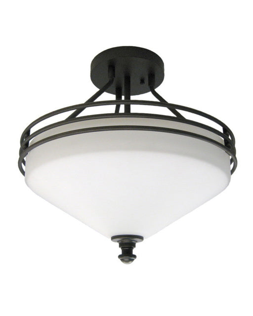 Epiphany Lighting 104470 ORB Semi Flush Ceiling Mount in Oil Rubbed Bronze Finish