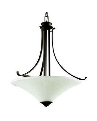 Kichler Lighting 42081 OZ Two Light Pendant Chandelier in Olde Bronze Finish - Quality Discount Lighting
