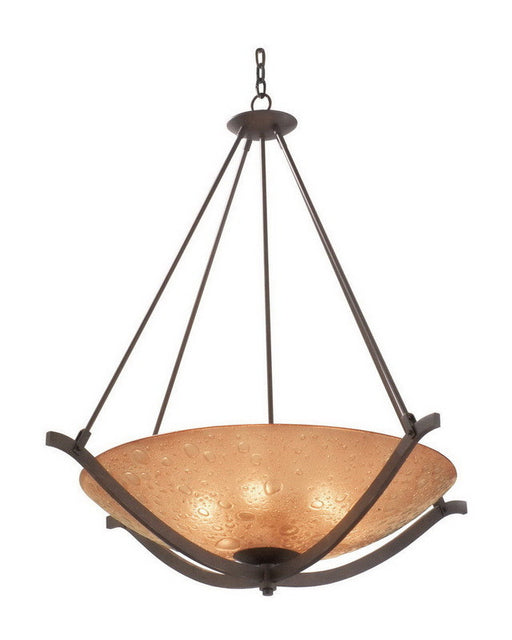Kalco Lighting 6152 TP Three Light Pendant Chandelier in Tawny Port Finish - Quality Discount Lighting