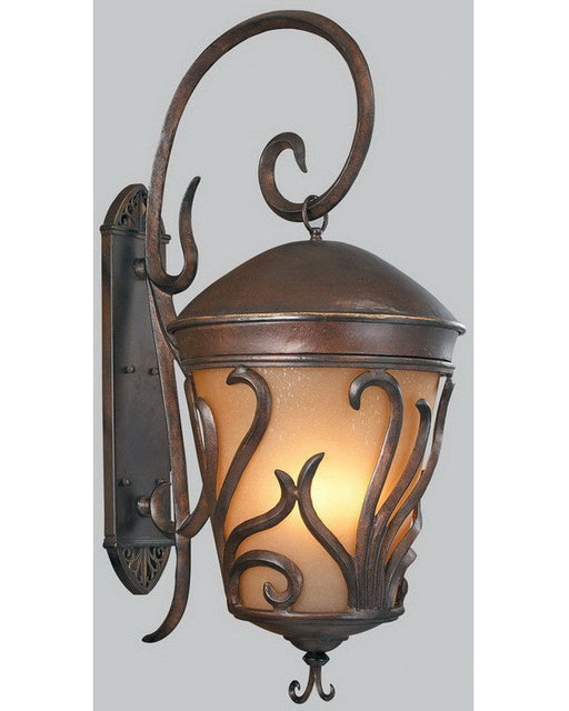 Kalco Lighting 9273 BB Four Light Outdoor Exterior Wall Lantern in Burnished Bronze Finish - Quality Discount Lighting