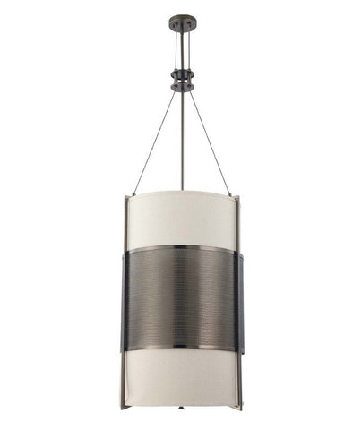 Nuvo Lighting 60-4032 Diesel Collection Six Light Energy Star Efficient Fluorescent GU24 Pendant Chandelier in Hazel Bronze Finish - Quality Discount Lighting