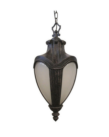 Kalco Lighting 9526 AK One Light Exterior Outdoor Hanging Lantern in Antique Black Finish - Quality Discount Lighting