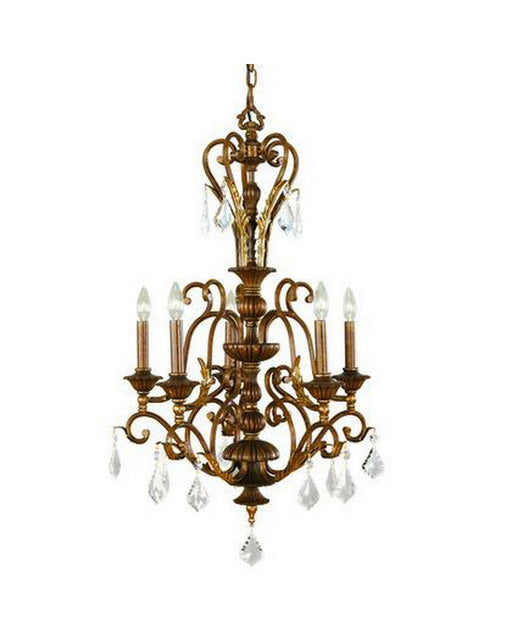 Kichler Lighting 1028 LBZ Anniston Collection Five Light Chandelier in Lincoln Bronze Finish - Quality Discount Lighting