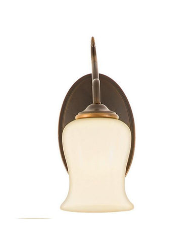 Quoizel Lighting HH8601 DZ Hannah Collection 1 Light Wall Sconce in Dark Bronze Finish - Quality Discount Lighting