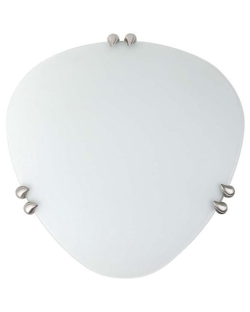 Globe Lighting 6122801 One Light Pearl Flush Ceiling Light