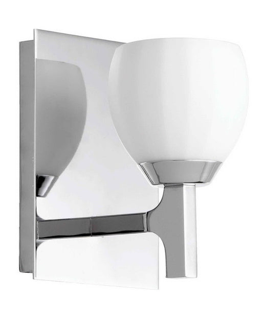 Quorum International 5667-1-14 One Light Wall Sconce in Polished Chrome Finish - Quality Discount Lighting