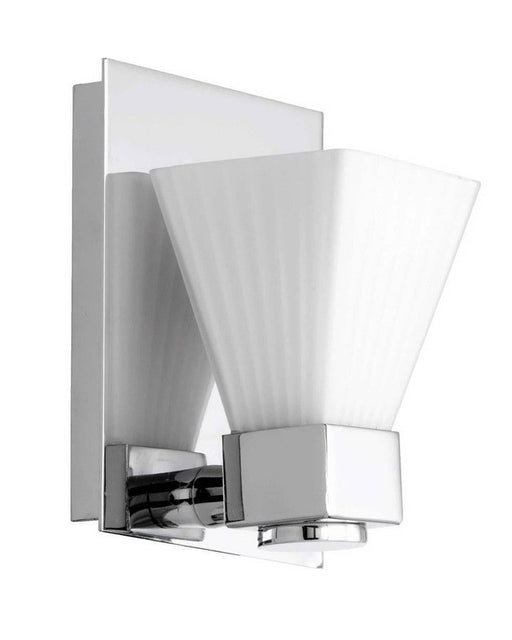Quorum International 5671-1-14 One Light Wall Sconce in Polished Chrome Finish - Quality Discount Lighting