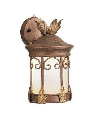 Kichler Lighting 10916 LZG Modesto Collection 13 Watt Fluorescent Energy Saving Outdoor Wall Light in Legacy Bronze Finish - Quality Discount Lighting