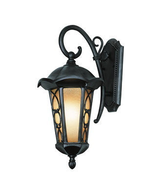Trans Globe Lighting 5942 BRZ One Light Outdoor Wall Lantern in Black Bronze Finish