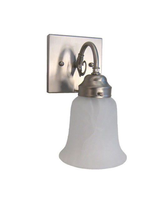 Epiphany Lighting 106075-252 BN One Light Wall Sconce in Brushed Nickel Finish