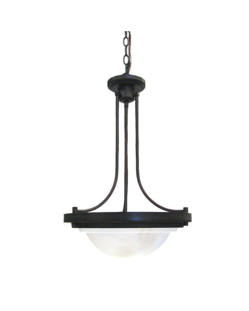 Epiphany Lighting 102622 ORB Two Light Pendant Chandelier in Oil Rubbed Bronze Finish - Quality Discount Lighting