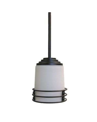 Epiphany Lighting 102084 ORB One Light Mini Pendant in Oil Rubbed Bronze Finish - Quality Discount Lighting
