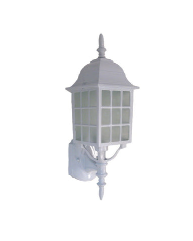 Epiphany Lighting 104454 WH One Light Outdoor Exterior Wall Mount in White Finish