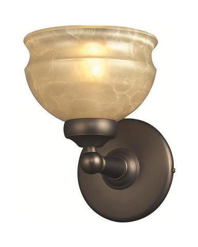 Z-Lite Lighting 305-1V One Light Wall Sconce in Olde Bronze Finish - Quality Discount Lighting