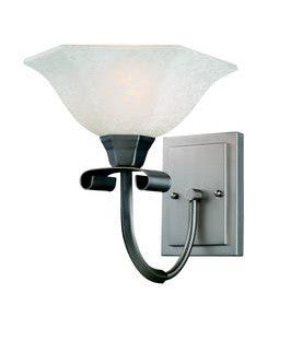 Z-Lite Lighting 701-1S One Light Wall Sconce in Satin Nickel Finish - Quality Discount Lighting