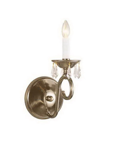 International Lighting 13746-64 One Light Wall Sconce in Old Bronze Finish - Quality Discount Lighting