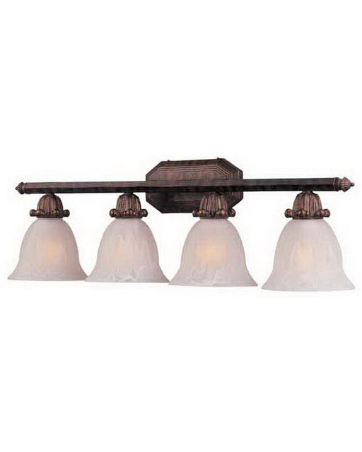 International lighting 24511 02 four light bath vanity wall in artisan bronze finish quality