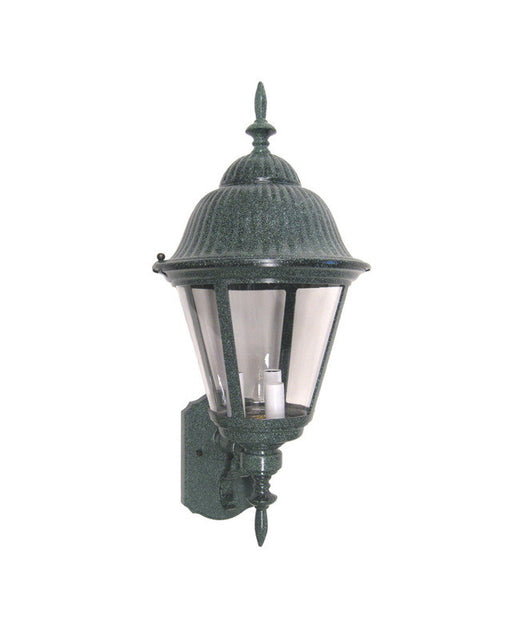 International Lighting 7591-27 Three Light Outdoor Exterior Wall Lantern in Verde Green Finish - Quality Discount Lighting