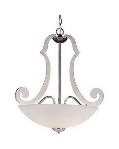 Trans Globe Lighting 2787 PC Three Light Pendant Chandelier in Polished Chrome Finish - Quality Discount Lighting