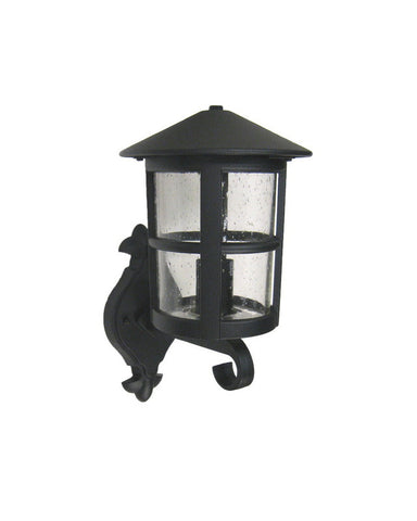 Trans Globe Lighting 5310 BK One Light Outdoor Wall Lantern in Black Finish