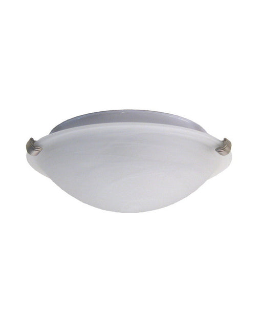 Rainbow Lighting 3101-2LT SN/MR One Light Halogen Ceiling Flushmount in Satin Nickel Finish - Quality Discount Lighting