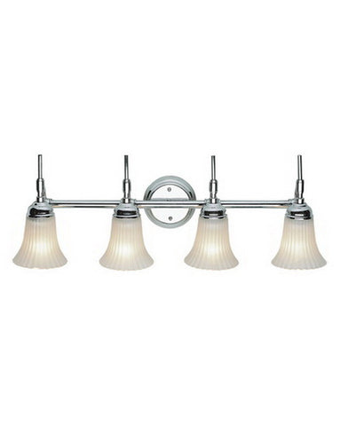 Trans Globe Lighting 2684 PC Four Light Polished Chrome Bath Wall - Quality Discount Lighting