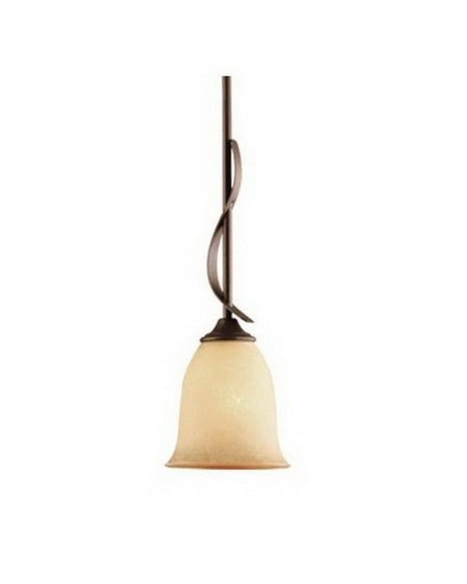 Vaxcel Lighting PD-40121 SA Esprit Collection One Light Mini Pendant in Sable Finish - Quality Discount Lighting