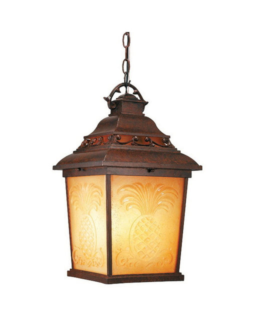 Kalco Lighting 9456 TO One Light Outdoor Exterior Hanging Pendant Lantern in Tortoise Shell Finish - Quality Discount Lighting