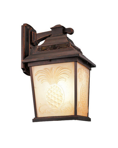 Kalco Lighting 9452 TP One Light Outdoor Exterior Wall Lantern in Tawny Port Finish - Quality Discount Lighting