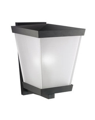 Kichler Lighting 9146 BK Urban Ice Collection 1 Light Exterior Wall in Black Finish - Quality Discount Lighting