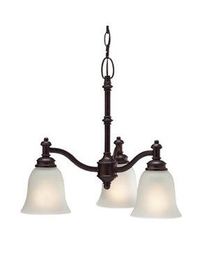 Kichler Lighting 2142 OAU Laverton Collection Three Light Hanging Chandelier in Olde Auburn Finish - Quality Discount Lighting