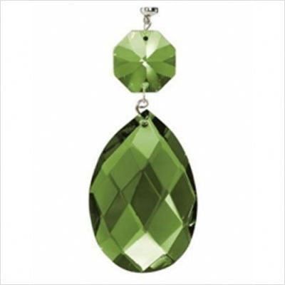 Kichler Lighting 4705 GRN Green Faceted Almond and Octagon Magnetic Fixture Accent - Quality Discount Lighting