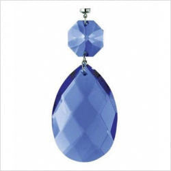 Kichler Lighting 4705 DBL Dark Blue Faceted Almond and Octagon Magnetic Fixture Accent - Quality Discount Lighting