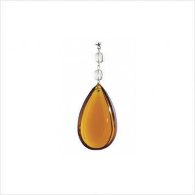 Kichler Lighting 4700 AMB Amber with Two Clear Beads Magnetic Fixture Accent - Quality Discount Lighting