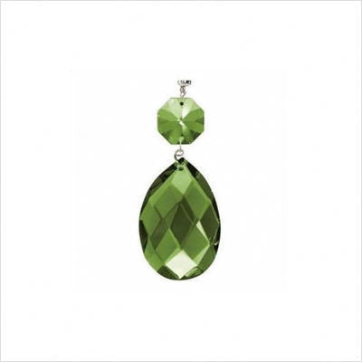Kichler Lighting 4704 GRN Green Faceted Almond and Octagon Magnetic Fixture Accent - Quality Discount Lighting