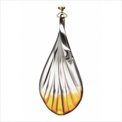 Kichler Lighting 4404 Edenvale Collection Etched Clear with Amber Magnetic Fixture Accent - Quality Discount Lighting