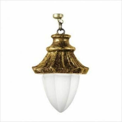 Kichler Lighting 4632 Puerta Collection Antique Gold with Satin Etched Magnetic Fixture Accent - Quality Discount Lighting