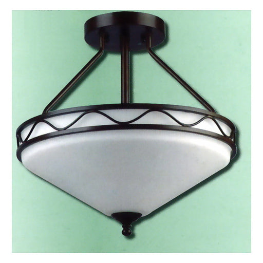 Epiphany Lighting 100330 ORB Semi Flush Ceiling Mount in Oil Rubbed Bronze Finish - Quality Discount Lighting