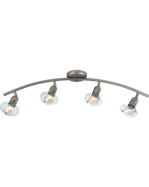 Globe Lighting 5770301 Four Light Halogen Ceiling Fixture in Satin Chrome Finish