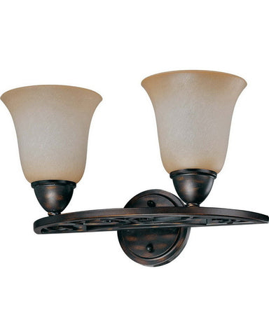 Nuvo Lighting 60-1571 Pickford Collection Two Light Bath Vanity Wall Sconce in Distressed Bronze Finish - Quality Discount Lighting
