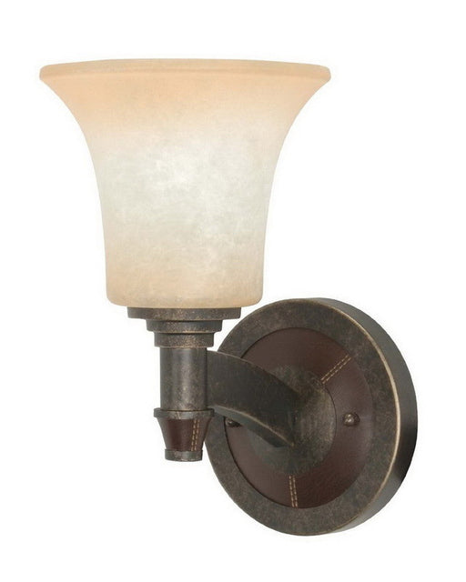 Nuvo Lighting 60-2451 Viceroy Collection One Light Energy Efficient Fluorescent Wall Sconce in Golden Umber Finish - Quality Discount Lighting