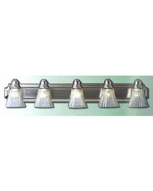 Epiphany Lighting 103288 BN-252 Five Light Bath Wall Light in Brushed Nickel Finish - Quality Discount Lighting