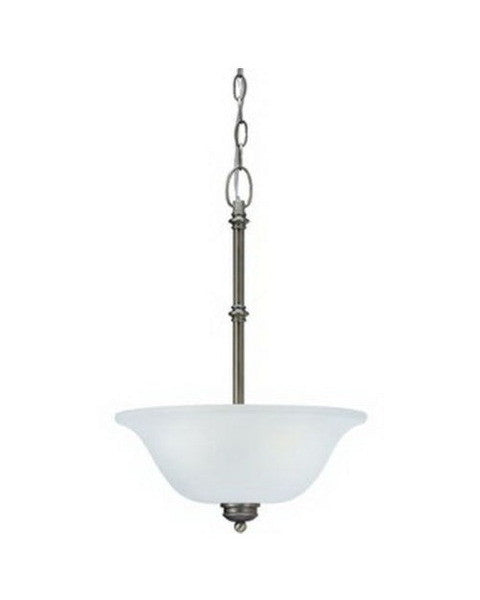 Kichler Lighting 3344 AP Laverton Collection Two Light Pendant in Antique Pewter Finish - Quality Discount Lighting