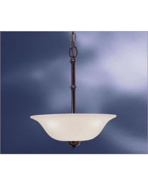 Kichler Lighting 3344 OAU Laverton Collection Two Light Pendant in Olde Auburn Finish - Quality Discount Lighting