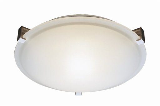 Trans Globe Lighting 59005 WH One Light Halogen Flush Ceiling Fixture in White Finish
