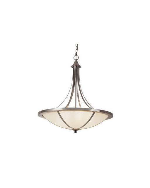 Trans Globe Lighting 10124 BN Six Light Pendant Chandelier in Brushed Nickel Finish - Quality Discount Lighting